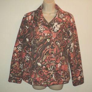 Susan Graver Size S (Runs Larger) Jacket